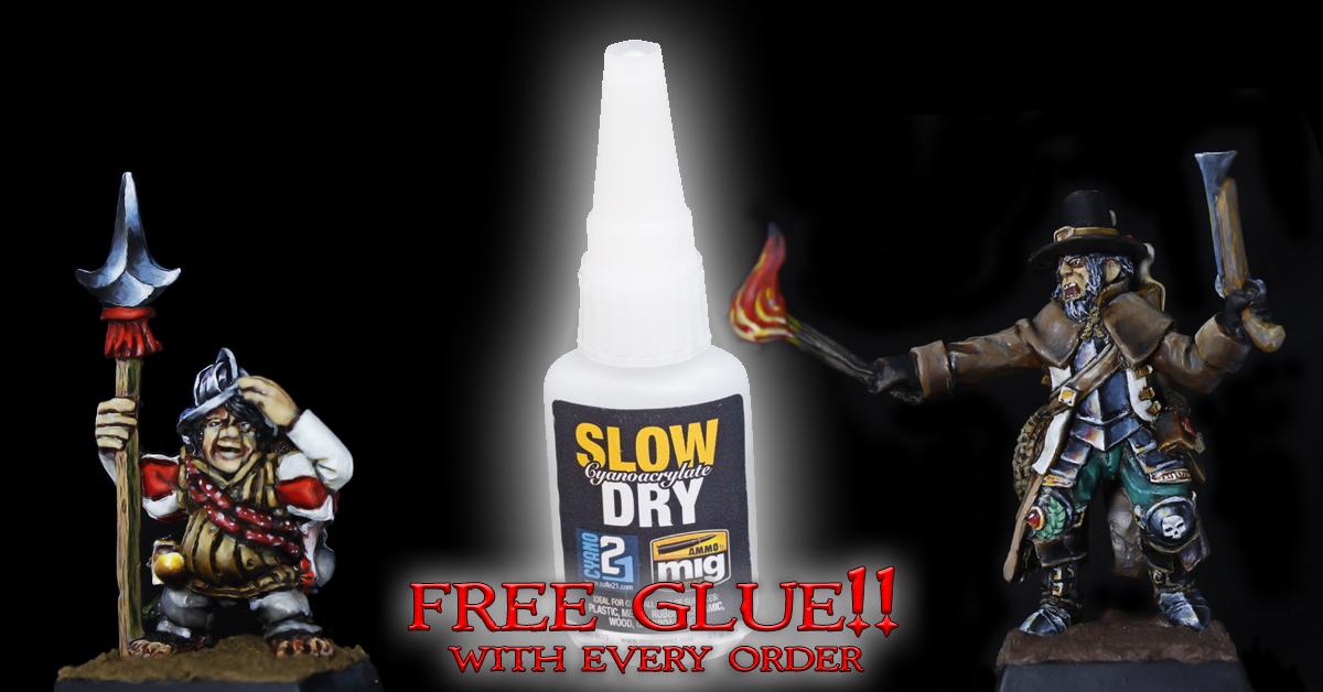 FREE GLUE!